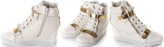 Sneakers dama cu platforma ascunsa