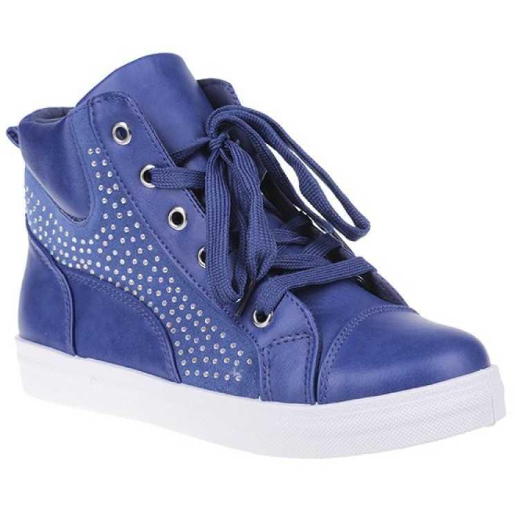 Sneakers Aby albastru pentru dama