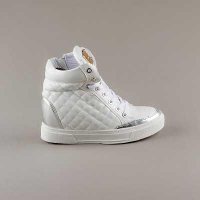 Sneakers dama Modlet albi din colectia Hazel