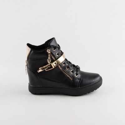 Sneakers dama Modlet negri din colectia Varinia