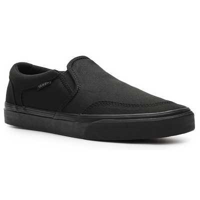 Vans Asher Slip-On Sneaker - Mens Black pentru dama