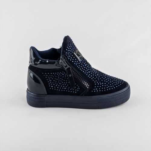 Sneakers dama Modlet albastri din colectia Breena