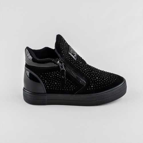 Sneakers dama Modlet negri din colectia Breena