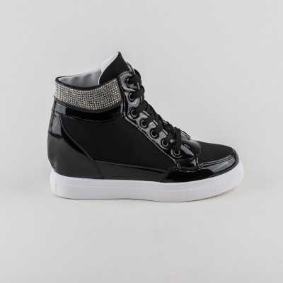 Sneakers dama Modlet negri din colectia Priscilla