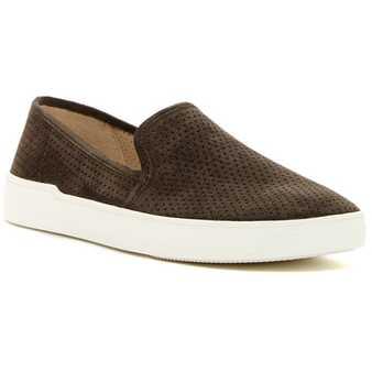 Via Spiga Galea Perforated Slip-On Sneaker MUSHROOM pentru femei
