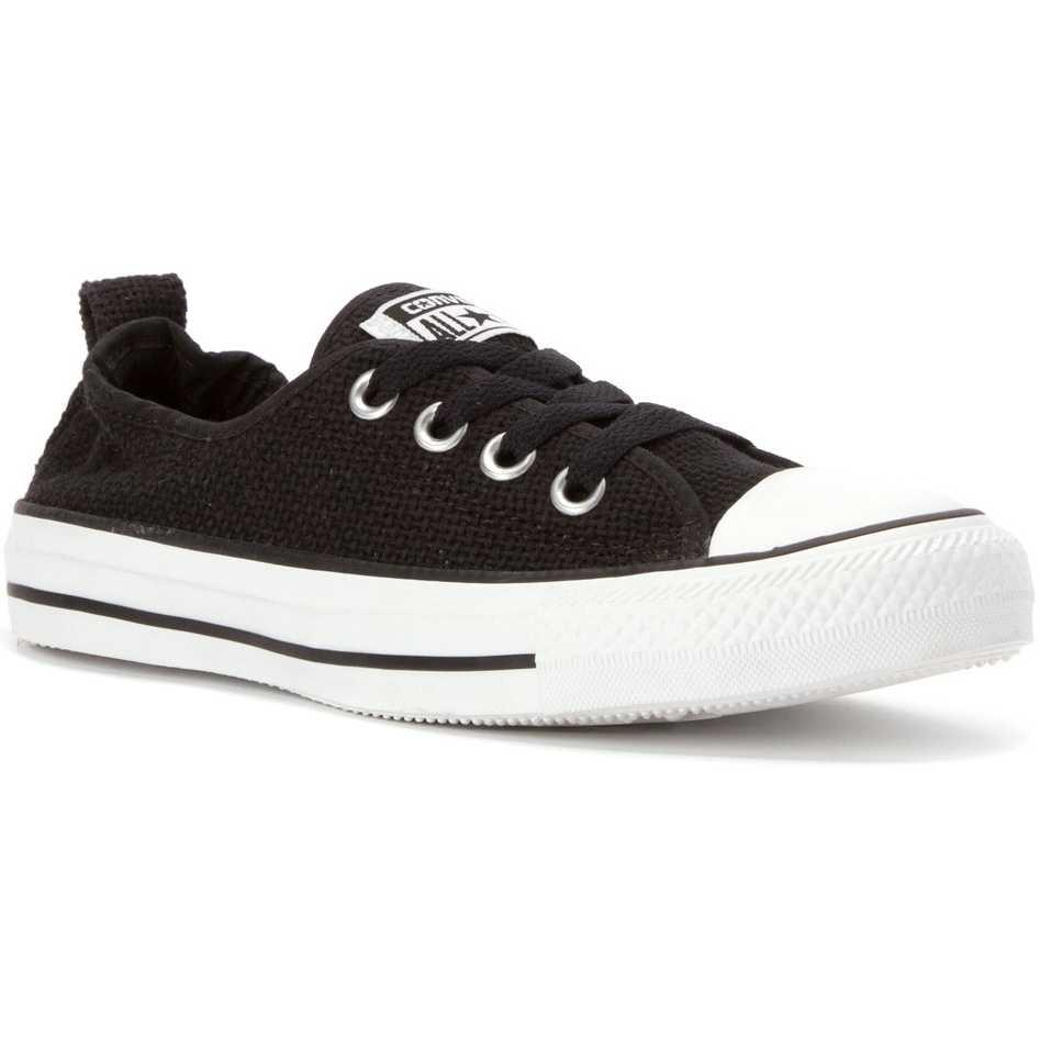 Converse Chuck Taylor Shoreline Open Weave Sneaker Black pentru femei