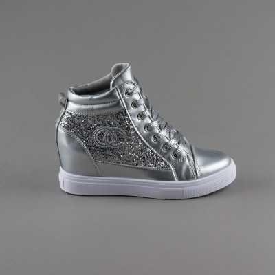Sneakers dama Modlet argintii din colectia Judith