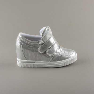 Sneakers dama Modlet argintii din colectia Kelly