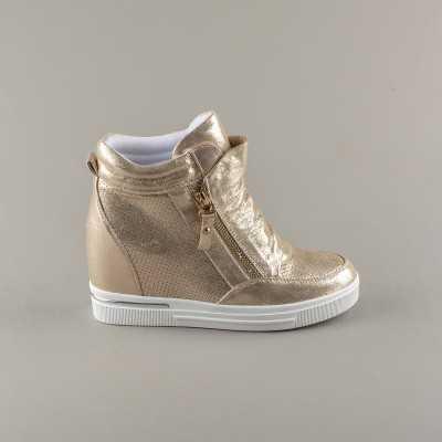 Sneakers dama Modlet aurii din colectia Ester