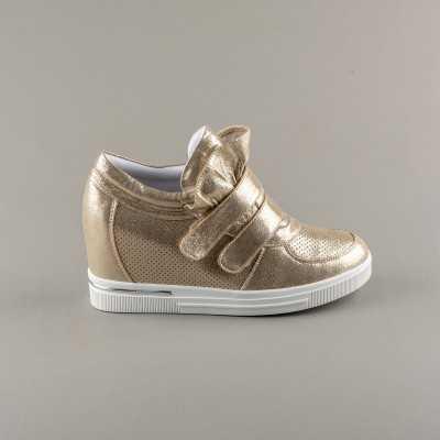Sneakers dama Modlet aurii din colectia Kelly