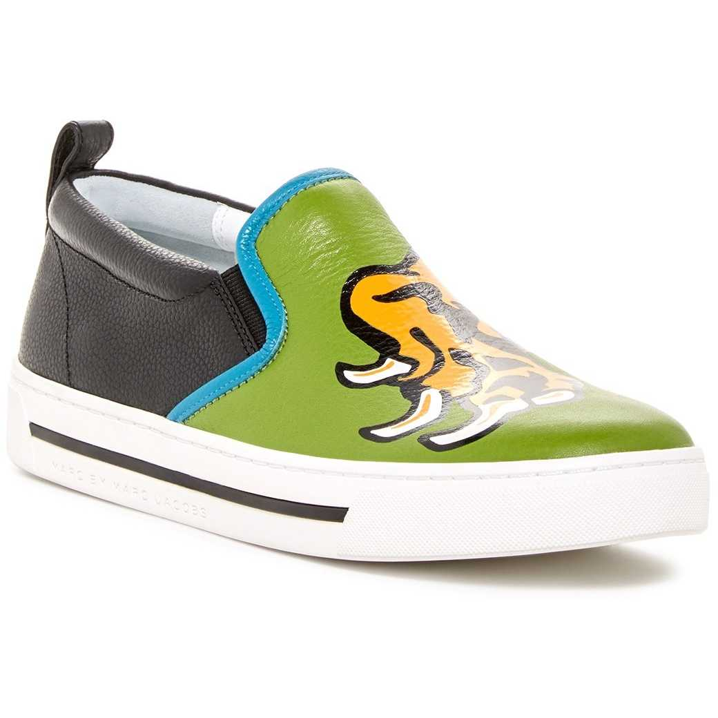 Marc by Marc Jacobs Slip-on Sneaker GREEN MULT pentru dama