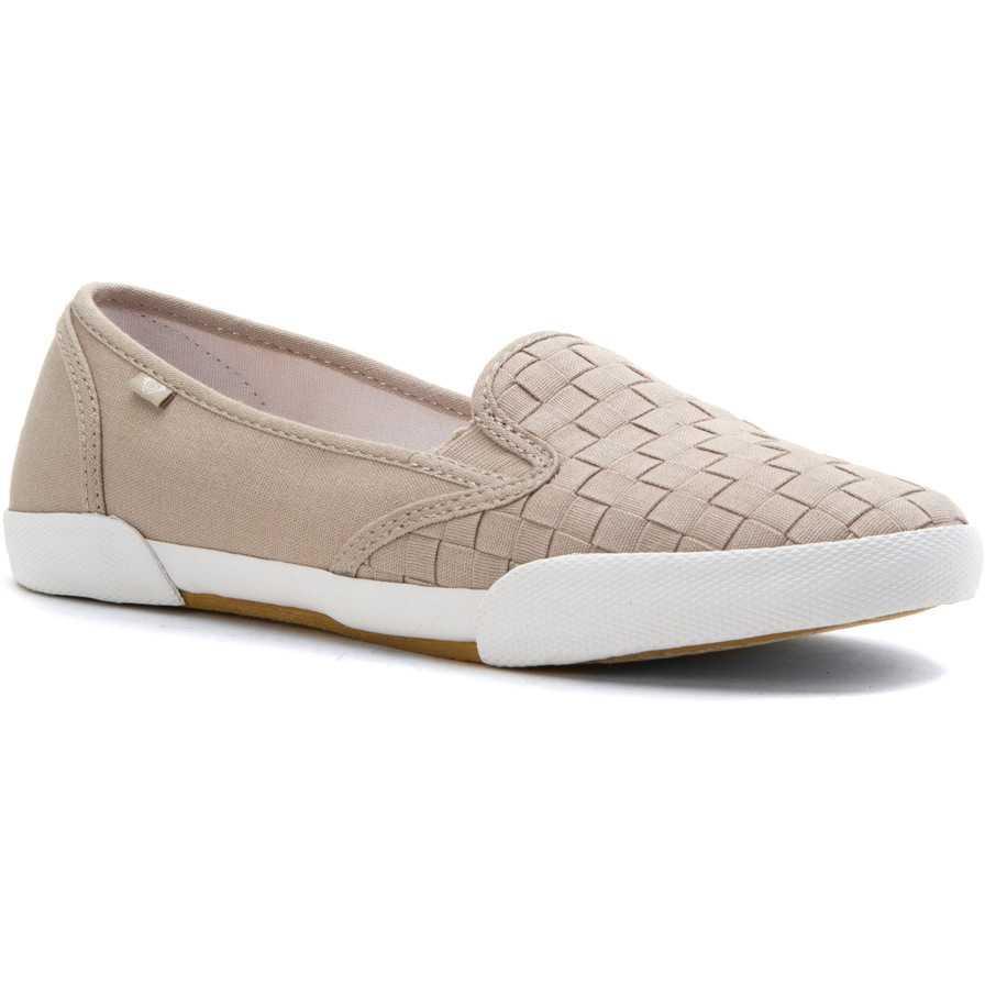 Roxy Malibu II Slip-On Sneaker Silver pentru femei