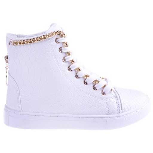 Sneakers Kobb white pentru dama