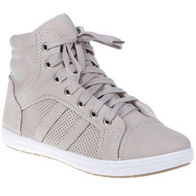 Sneakers Maya beige pentru femei