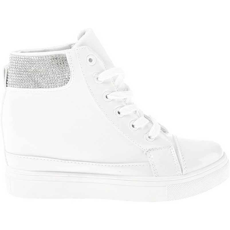 Sneakers dama Ruth alb