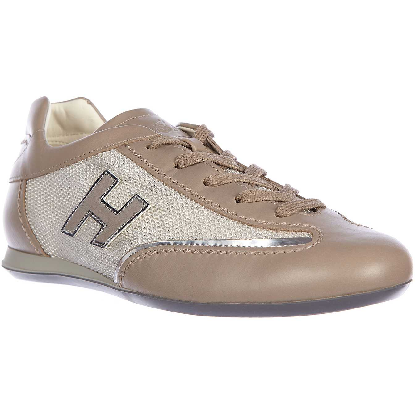 Hogan Sneakers Olympia H Flock Silver pentru femei
