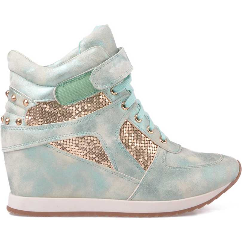 Sneakers dama M002 verde