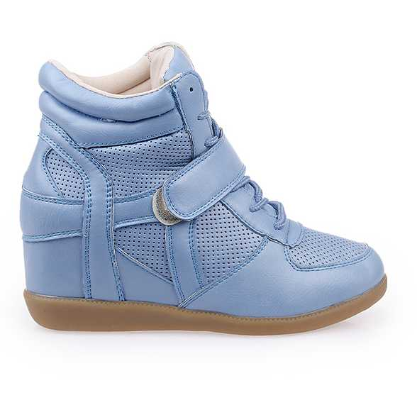 Sneakers dama Angelica albastru royal