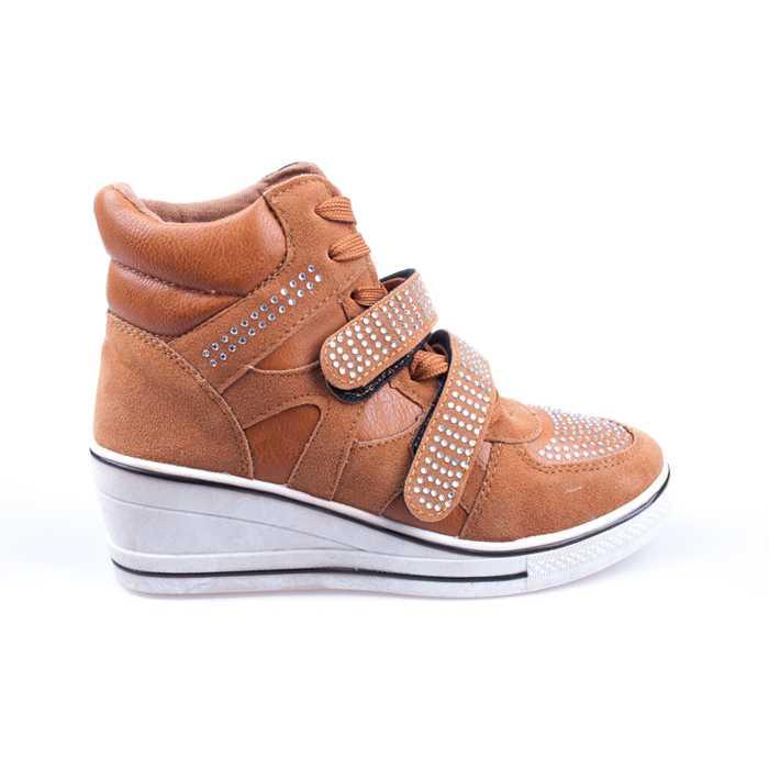 Sneakers dama Hanna 3 camel