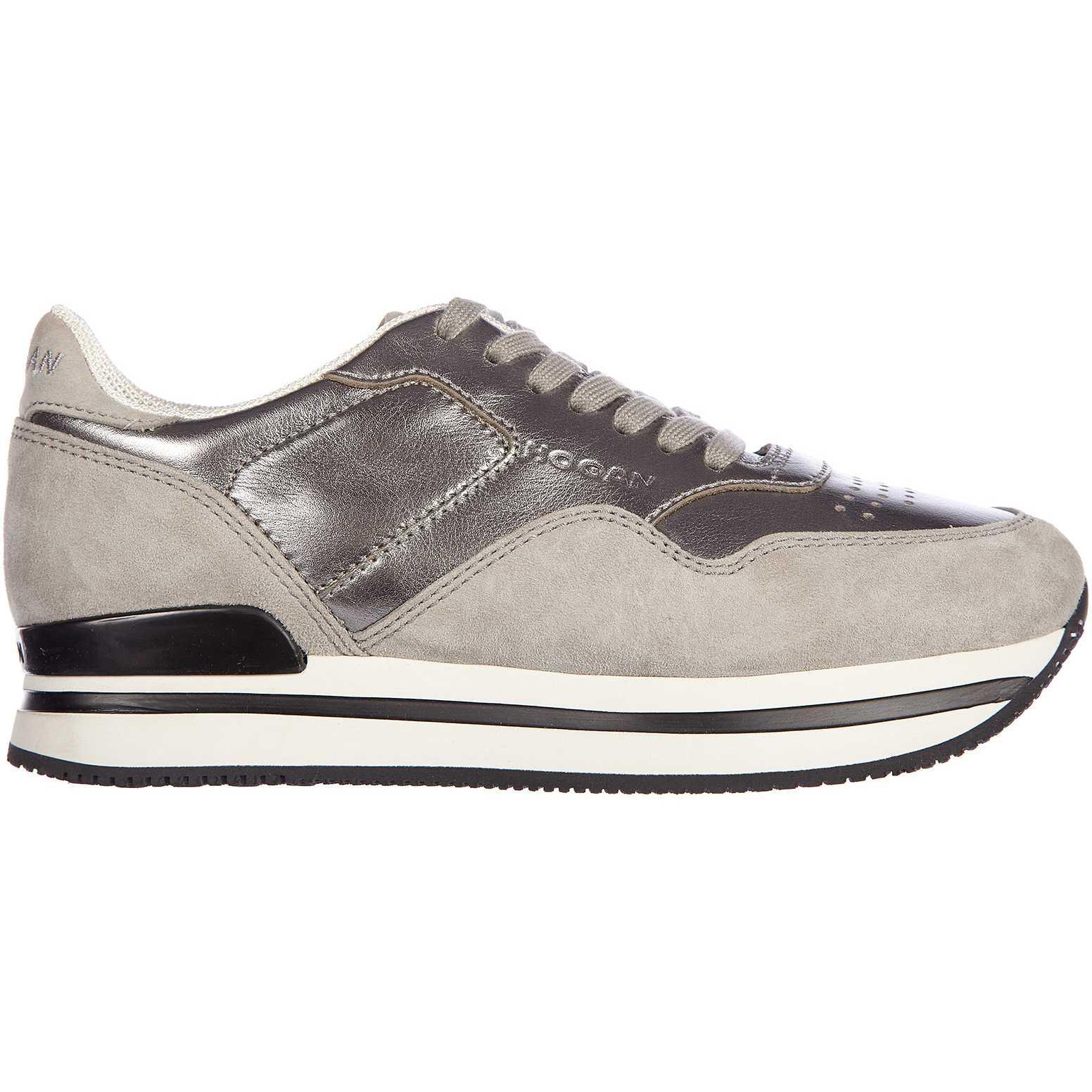Hogan Sneakers H222 Silver pentru femei