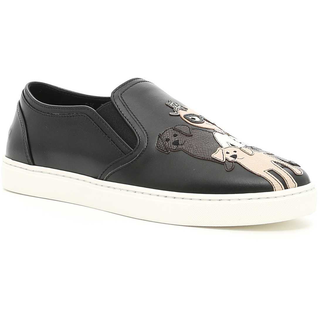Dolce Gabbana London Sneakers NERO pentru dama