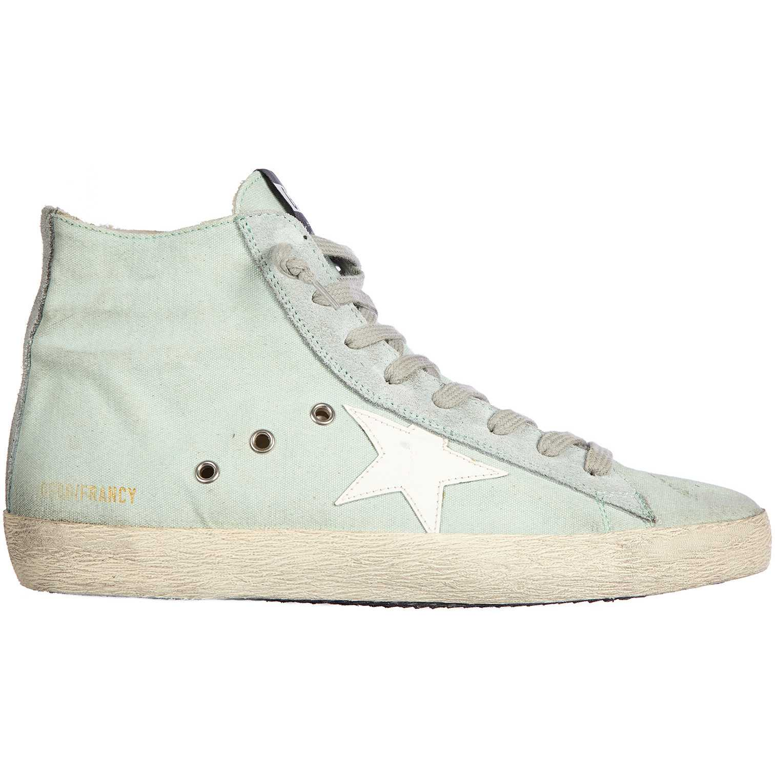 Golden Goose High Top Sneakers Francy Blue pentru femei
