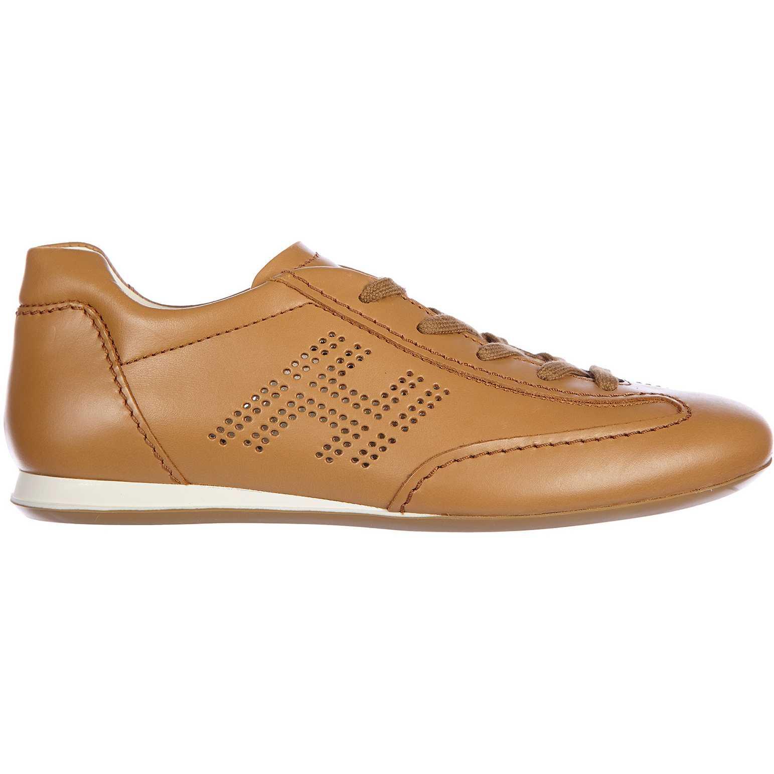 Hogan Sneakers Olympia H Bucata Brown pentru femei