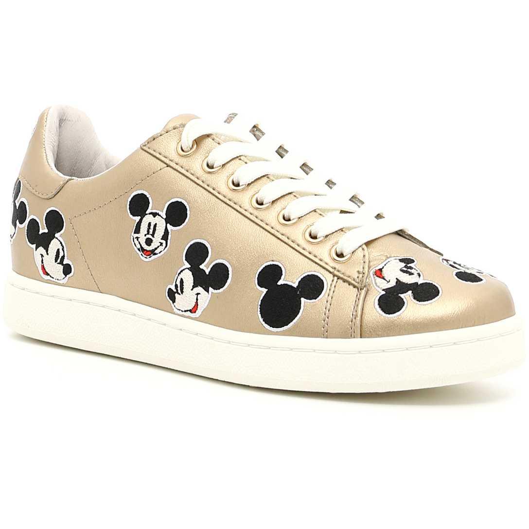 Moa Disney Tennis Sneakers GOLD pentru dama