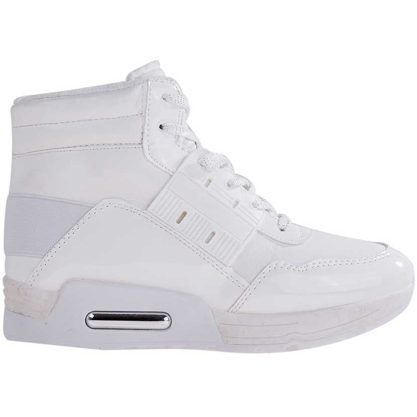 Sneakers dama Glendora albi