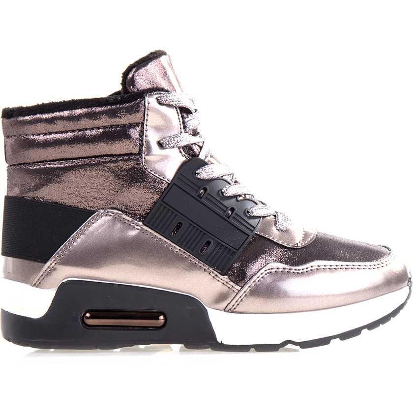 Sneakers dama Glendora argintii