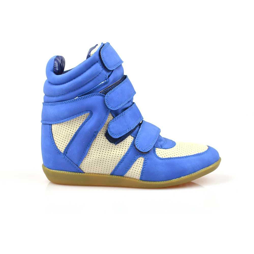 Sneakers dama Urania albastri