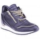 Sneakers Dyna black pentru femei