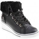 Sneakers Duncan black pentru femei