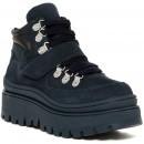 Jeffrey Campbell Top-Peak Platform Sneaker NAVY NUBUK pentru dama