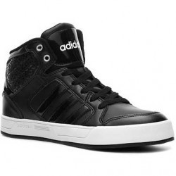 adidas NEO Raleigh High-Top Sneaker - Womens Black