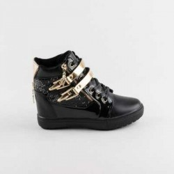 Sneakers dama Modlet negri din colectia Nayla