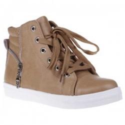 Sneakers Simina camel pentru dama
