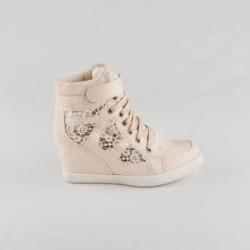 Sneakers dama Modlet bej din colectia Dareia