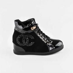 Sneakers dama Modlet negri din colectia Emine