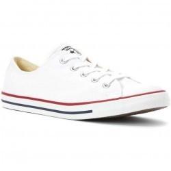 Converse Chuck Taylor Dainty Low Top Sneaker Optical White pentru dama