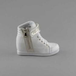 Sneakers dama Modlet albi din colectia Arana