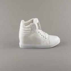 Sneakers dama Modlet albi din colectia Keira