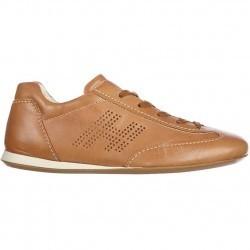 Hogan Sneakers Olympia Lace Up Vintage Brown pentru femei