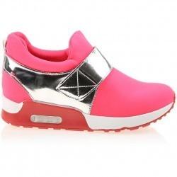 Sneakers dama Sadie rosu aprins