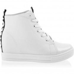 Sneakers dama Safira alb