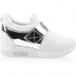 Sneakers dama Sadie alb