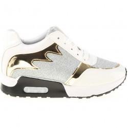 Sneakers dama Saya alb