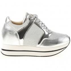 Sneakers dama Senaida argintiu