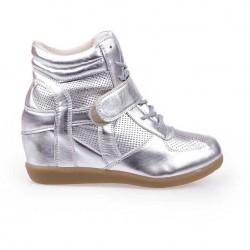 Sneakers dama Angelica argintiu