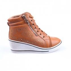 Sneakers dama Hanna 1 camel